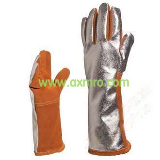 隔热防喷溅镀铝手套 205401